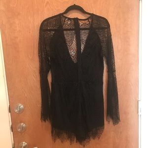 Black Romper by Tobi